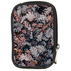 Leaf Leaves Autumn Fall Brown Compact Camera Cases by BangZart