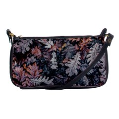 Leaf Leaves Autumn Fall Brown Shoulder Clutch Bags by BangZart