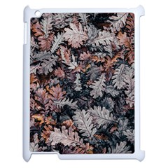 Leaf Leaves Autumn Fall Brown Apple Ipad 2 Case (white) by BangZart