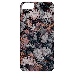 Leaf Leaves Autumn Fall Brown Apple Iphone 5 Classic Hardshell Case