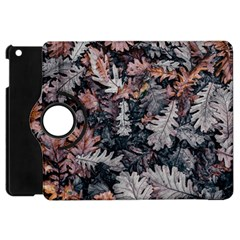 Leaf Leaves Autumn Fall Brown Apple Ipad Mini Flip 360 Case by BangZart