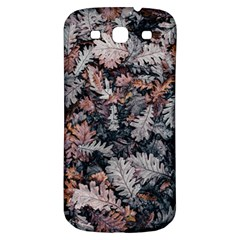 Leaf Leaves Autumn Fall Brown Samsung Galaxy S3 S Iii Classic Hardshell Back Case by BangZart