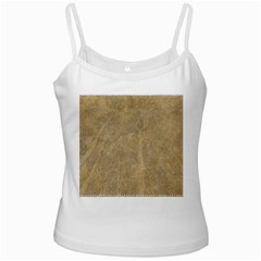 Abstract Forest Trees Age Aging White Spaghetti Tank