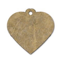 Abstract Forest Trees Age Aging Dog Tag Heart (one Side) by BangZart