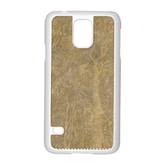 Abstract Forest Trees Age Aging Samsung Galaxy S5 Case (white) by BangZart