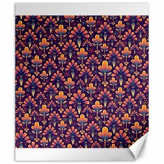Abstract Background Floral Pattern Canvas 20  X 24   by BangZart