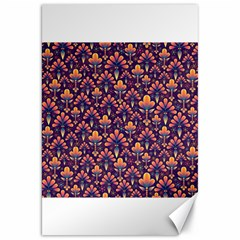 Abstract Background Floral Pattern Canvas 20  X 30   by BangZart