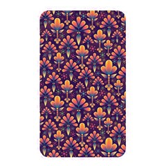 Abstract Background Floral Pattern Memory Card Reader