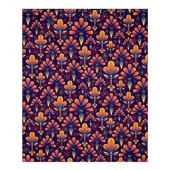 Abstract Background Floral Pattern Shower Curtain 60  X 72  (medium)  by BangZart