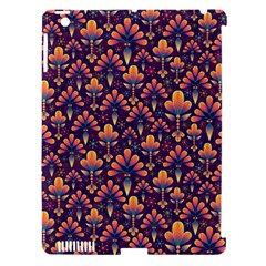 Abstract Background Floral Pattern Apple Ipad 3/4 Hardshell Case (compatible With Smart Cover) by BangZart