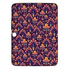 Abstract Background Floral Pattern Samsung Galaxy Tab 3 (10 1 ) P5200 Hardshell Case  by BangZart