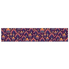 Abstract Background Floral Pattern Flano Scarf (small)