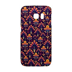 Abstract Background Floral Pattern Galaxy S6 Edge by BangZart