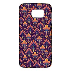 Abstract Background Floral Pattern Galaxy S6