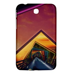 The Rainbow Bridge Of A Thousand Fractal Colors Samsung Galaxy Tab 3 (7 ) P3200 Hardshell Case  by jayaprime