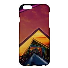 The Rainbow Bridge Of A Thousand Fractal Colors Apple Iphone 6 Plus/6s Plus Hardshell Case by jayaprime