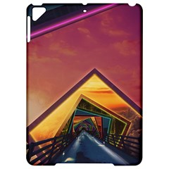 The Rainbow Bridge Of A Thousand Fractal Colors Apple Ipad Pro 9 7   Hardshell Case by jayaprime