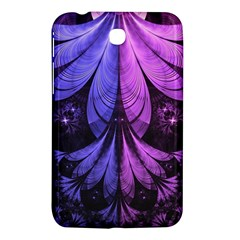 Beautiful Lilac Fractal Feathers Of The Starling Samsung Galaxy Tab 3 (7 ) P3200 Hardshell Case  by jayaprime