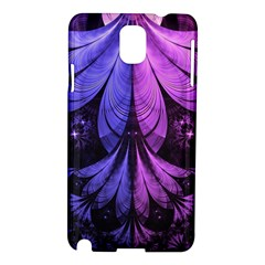 Beautiful Lilac Fractal Feathers Of The Starling Samsung Galaxy Note 3 N9005 Hardshell Case by jayaprime