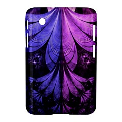 Beautiful Lilac Fractal Feathers Of The Starling Samsung Galaxy Tab 2 (7 ) P3100 Hardshell Case  by jayaprime