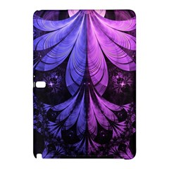 Beautiful Lilac Fractal Feathers Of The Starling Samsung Galaxy Tab Pro 12 2 Hardshell Case by jayaprime