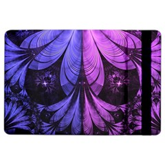 Beautiful Lilac Fractal Feathers Of The Starling Ipad Air 2 Flip by jayaprime