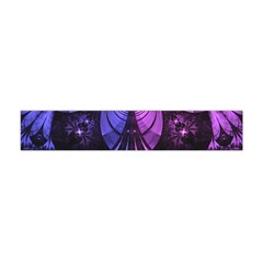 Beautiful Lilac Fractal Feathers Of The Starling Flano Scarf (mini) by jayaprime