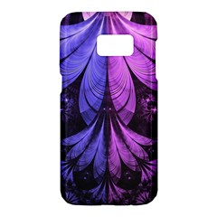 Beautiful Lilac Fractal Feathers Of The Starling Samsung Galaxy S7 Hardshell Case  by beautifulfractals