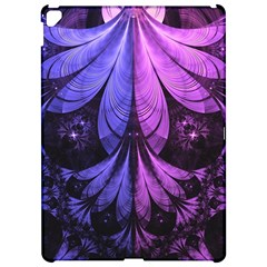 Beautiful Lilac Fractal Feathers of the Starling Apple iPad Pro 12.9   Hardshell Case by beautifulfractals