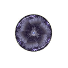 Amazing Fractal Triskelion Purple Passion Flower Hat Clip Ball Marker (4 Pack) by beautifulfractals