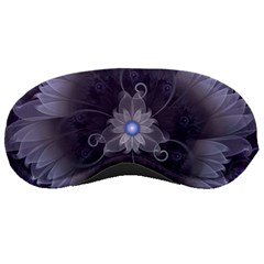 Amazing Fractal Triskelion Purple Passion Flower Sleeping Masks by jayaprime