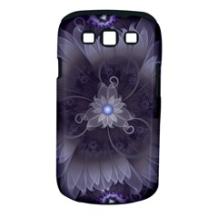 Amazing Fractal Triskelion Purple Passion Flower Samsung Galaxy S Iii Classic Hardshell Case (pc+silicone) by beautifulfractals