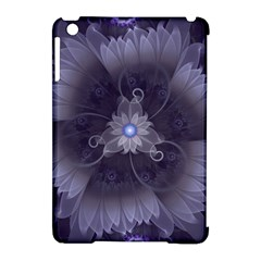 Amazing Fractal Triskelion Purple Passion Flower Apple Ipad Mini Hardshell Case (compatible With Smart Cover) by beautifulfractals