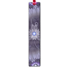 Amazing Fractal Triskelion Purple Passion Flower Large Book Marks by jayaprime