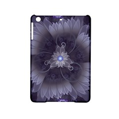 Amazing Fractal Triskelion Purple Passion Flower Ipad Mini 2 Hardshell Cases by jayaprime