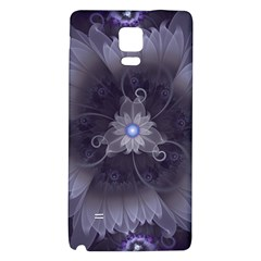 Amazing Fractal Triskelion Purple Passion Flower Galaxy Note 4 Back Case by beautifulfractals