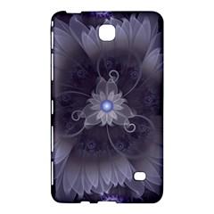 Amazing Fractal Triskelion Purple Passion Flower Samsung Galaxy Tab 4 (8 ) Hardshell Case  by beautifulfractals