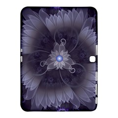 Amazing Fractal Triskelion Purple Passion Flower Samsung Galaxy Tab 4 (10 1 ) Hardshell Case  by jayaprime