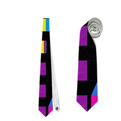 Colorful Rectangles And Squares                        Necktie
