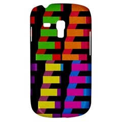 Colorful Rectangles And Squares                  Samsung Galaxy Ace Plus S7500 Hardshell Case by LalyLauraFLM