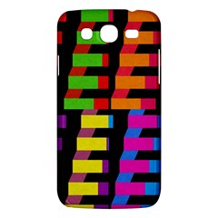 Colorful Rectangles And Squares                  Samsung Galaxy Duos I8262 Hardshell Case by LalyLauraFLM