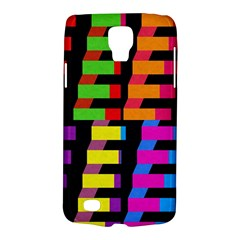 Colorful Rectangles And Squares                  Samsung Galaxy Ace 3 S7272 Hardshell Case by LalyLauraFLM