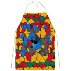 Stained Glass                        Full Print Apron by LalyLauraFLM