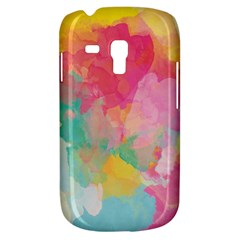 Pastel Watercolors Canvas                  Samsung Galaxy Ace Plus S7500 Hardshell Case by LalyLauraFLM