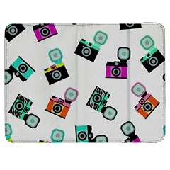 Old Cameras Pattern                  Htc One M7 Hardshell Case by LalyLauraFLM
