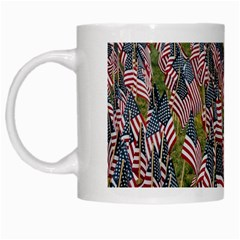 Repetition Retro Wallpaper Stripes White Mugs by BangZart