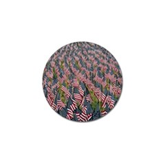Repetition Retro Wallpaper Stripes Golf Ball Marker (10 Pack) by BangZart
