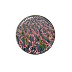Repetition Retro Wallpaper Stripes Hat Clip Ball Marker (10 Pack)