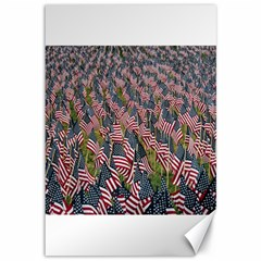 Repetition Retro Wallpaper Stripes Canvas 12  X 18