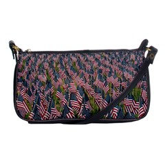 Repetition Retro Wallpaper Stripes Shoulder Clutch Bags